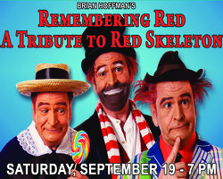 Buy Tickets Online Now for Brian Hoffman's Red Skelton Tribute LIVE in Mount Dora