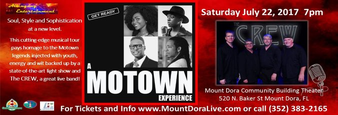 Get Ready! The Ultimate Motown Experience Live in Mount Dora, FL