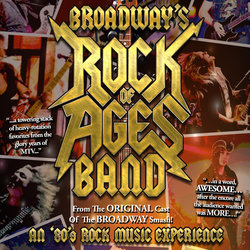 The Rock of Ages Band from Broadway